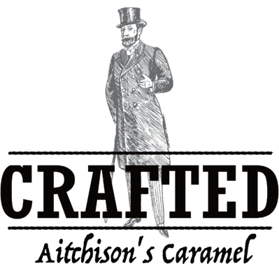 Crafted Logo - Aitchison's Caramel - PPL Black
