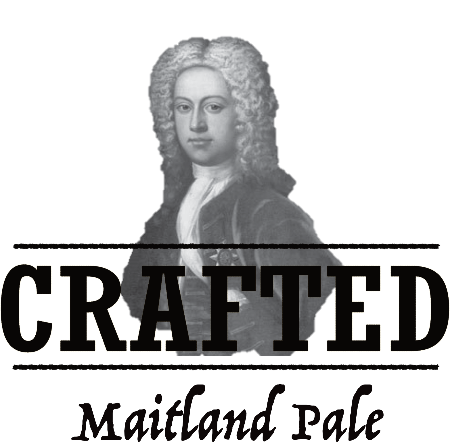 Crafted Logo - Maitland Pale - PPL Black